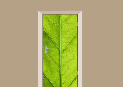 deursticker natuur blad