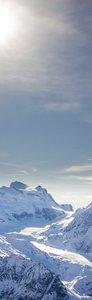 SALE: Muursticker/deursticker Alpen 55x205cm (BxL)