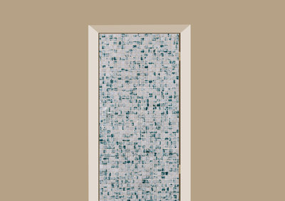 deursticker tegels en stenen tegeltjes