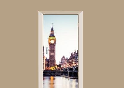 Deursticker Londen
