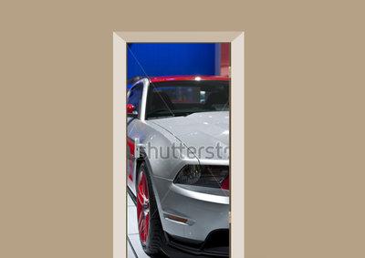 Deursticker auto Ford Mustang - Deurstickers-webshop 2eb33d7ef9