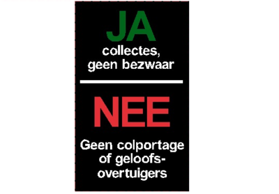 Sticker colportage