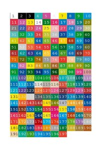 Kleurenkaart klein