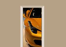 Deursticker Ferrari 458