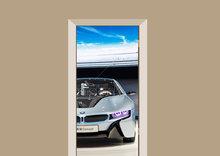 Deursticker auto BMW