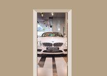 Deursticker BMW museum