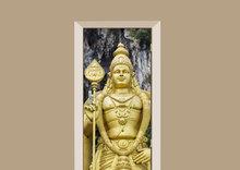 Deursticker boeddha Batu grotten