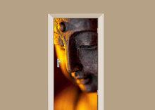 Deursticker boeddha sfeer
