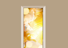 deursticker natuur sunny