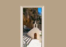 deursticker-kerk-op-kreta
