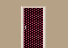 deursticker patronen hartjes